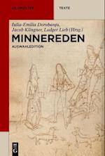 Minnereden (De Gruyter Texte)