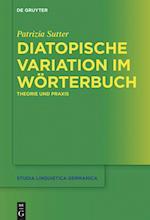 Diatopische Variation Im Worterbuch (Studia Linguistica Germanica, nr. 127)