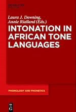 Intonation in African Tone Languages (Phonology and Phonetics Pp, nr. 24)