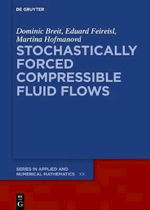 Stochastically Forced Compressible Fluid Flows