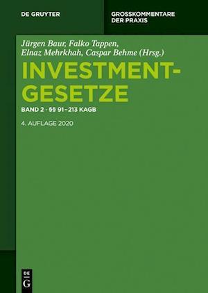 Investmentgesetze 2. §§ 91 - 213 KAGB; InvStG