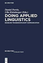 Doing Applied Linguistics (de Gruyter Collection)