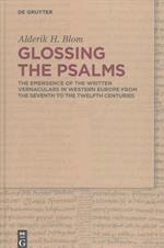 Glossing the Psalms