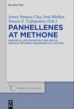 Panhellenes at Methone (Trends in Classics - Supplementary Volumes, nr. 44)