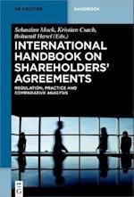 International Handbook on Shareholders Agreements (De Gruyter Handbook)