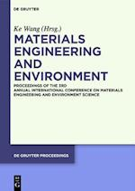 Materials Engineering and Environment (de Gruyter Proceedings)