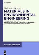 Materials in Environmental Engineering (de Gruyter Proceedings)