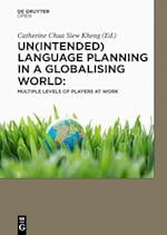 Un(intended) Language Planning in a Globalising World