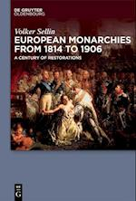 European Monarchies from 1814 to 1906