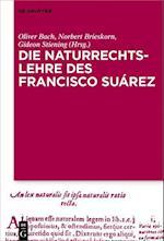 Die Naturrechtslehre Des Francisco Suarez