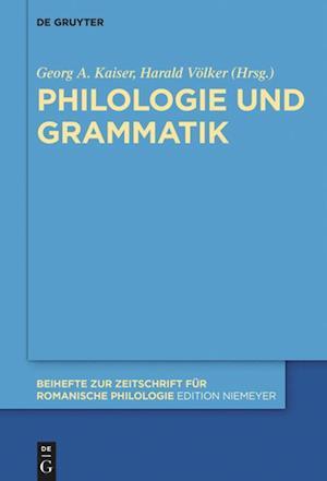 Bog, hardback Philologie Und Grammatik
