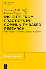 Insights from Practices in Community-Based Research