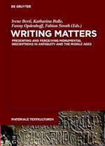 Writing Matters (Materiale Textkulturen, nr. 14)