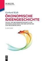 Okonomische Ideengeschichte (De Gruyter Studium)