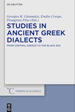 Studies in Ancient Greek Dialects (Trends in Classics - Supplementary Volumes, nr. 49)