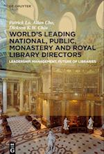 Worlds Leading National, Public, Monastery and Royal Library Directors af Dickson K. W. Chiu, Patrick Lo, Allan Cho