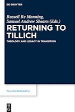 Returning to Tillich (Tillich Research, nr. 13)