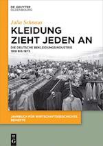 Kleidung Zieht Jeden an (Jahrbuch fur Wirtschaftsgeschichte Beihefte, nr. 20)