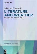 Literature and Weather (Spectrum Literaturwissenschaft / Spectrum Literature, nr. 61)