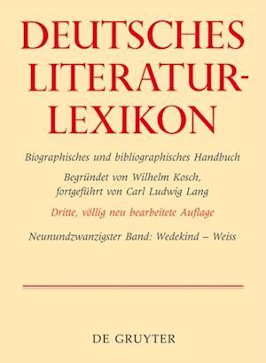 Wedekind - Weiss