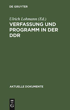 Verfassung und Programm in der DDR
