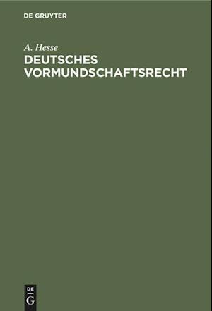 Deutsches Vormundschaftsrecht