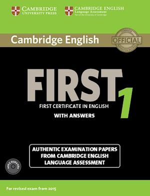 Cambridge English First 1 for updated exam. Student's Book with answers and downloadable audio