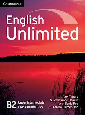 English Unlimited Upper Intermediate B2. Class Audio CDs (3)