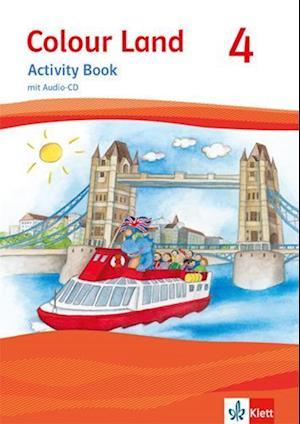 Colour Land ab Klasse 3. Ausgabe 2013. Activity Book mit Audio-CD 4. Schuljahr