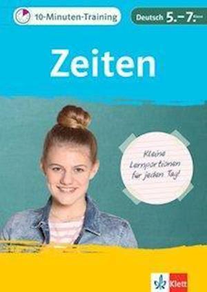10-Minuten-Training Deutsch Grammatik Zeiten 5. - 7. Klasse