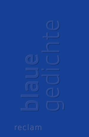 Blaue Gedichte