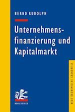 Unternehmensfinanzierung Und Kapitalmarkt af Bernd Rudolph