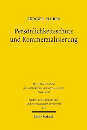 Personlichkeitsschutz Und Kommerzialisierung
