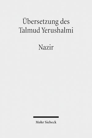 Bog, hardback Ubersetzung Des Talmud Yerushalmi