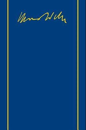 Bog, hardback Max Weber-Gesamtausgabe af Max Weber