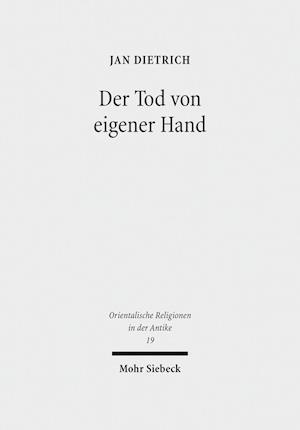 Bog, hardback Der Tod Von Eigener Hand af Jan Dietrich