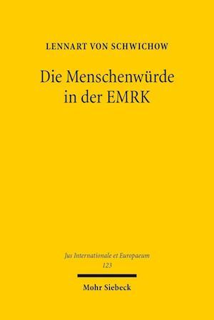 Bog, paperback Die Menschenwurde in Der Emrk af Lennart Von Schwichow