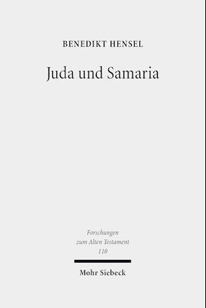 Bog, hardback Juda Und Samaria af Benedikt Hensel