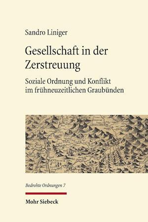 Bog, hardback Gesellschaft in Der Zerstreuung af Sandro Liniger