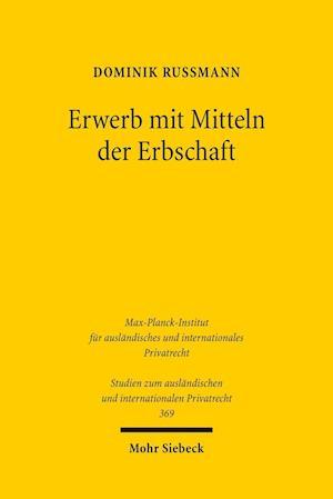 Bog, paperback Erwerb Mit Mitteln Der Erbschaft af Dominik Russmann