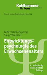 Entwicklungspsychologie Des Erwachsenenalters af Philipp Mayring, Winfried Saup, Toni Faltermaier