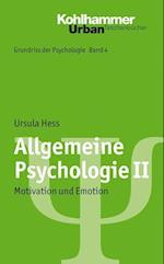 Allgemeine Psychologie II (Urban taschenbucher, nr. 725)