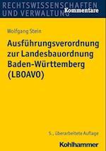 Ausfuhrungsverordnung Zur Landesbauordnung Baden-Wurttemberg (Lboavo)