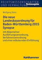 Die Neue Landesbauordnung Fur Baden-Wurttemberg 2015 Synopse
