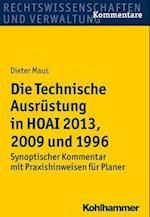Die Technische Ausrustung in Hoai 2013, 2009 Und 1996
