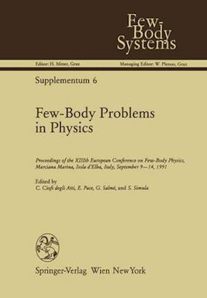 Bog, hardback Few-Body Problems in Physics af Claudio Ciofi Degli Atti