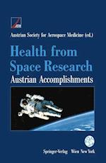 Health from Space Research : Austrian Accomplishments