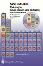 Klinik Und Labor Elektrolyke, Säure-Basen Und Blutgase