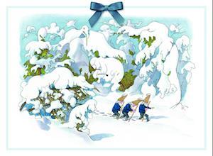 Adventskalender Zwerge im Schnee