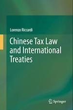 Chinese Tax Law and International Treaties af Lorenzo Riccardi